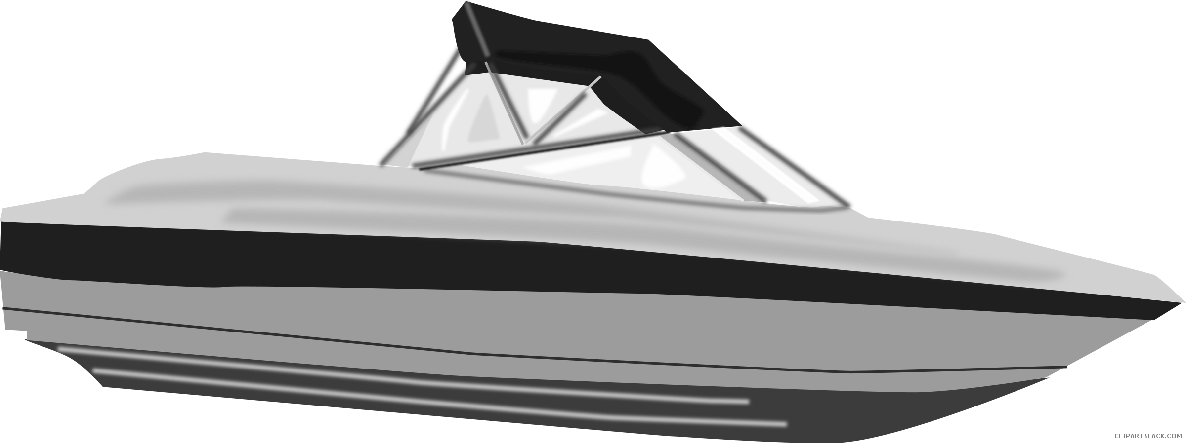 Speed clipart free clip art black and white download Speed Boat Clipart - ClipartBlack.com clip art black and white download