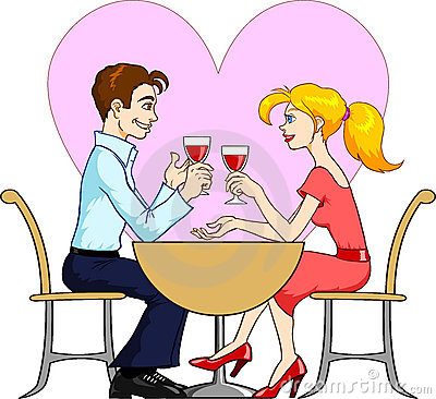 Speed dating clipart picture black and white Dating couples clipart - ClipartFest picture black and white