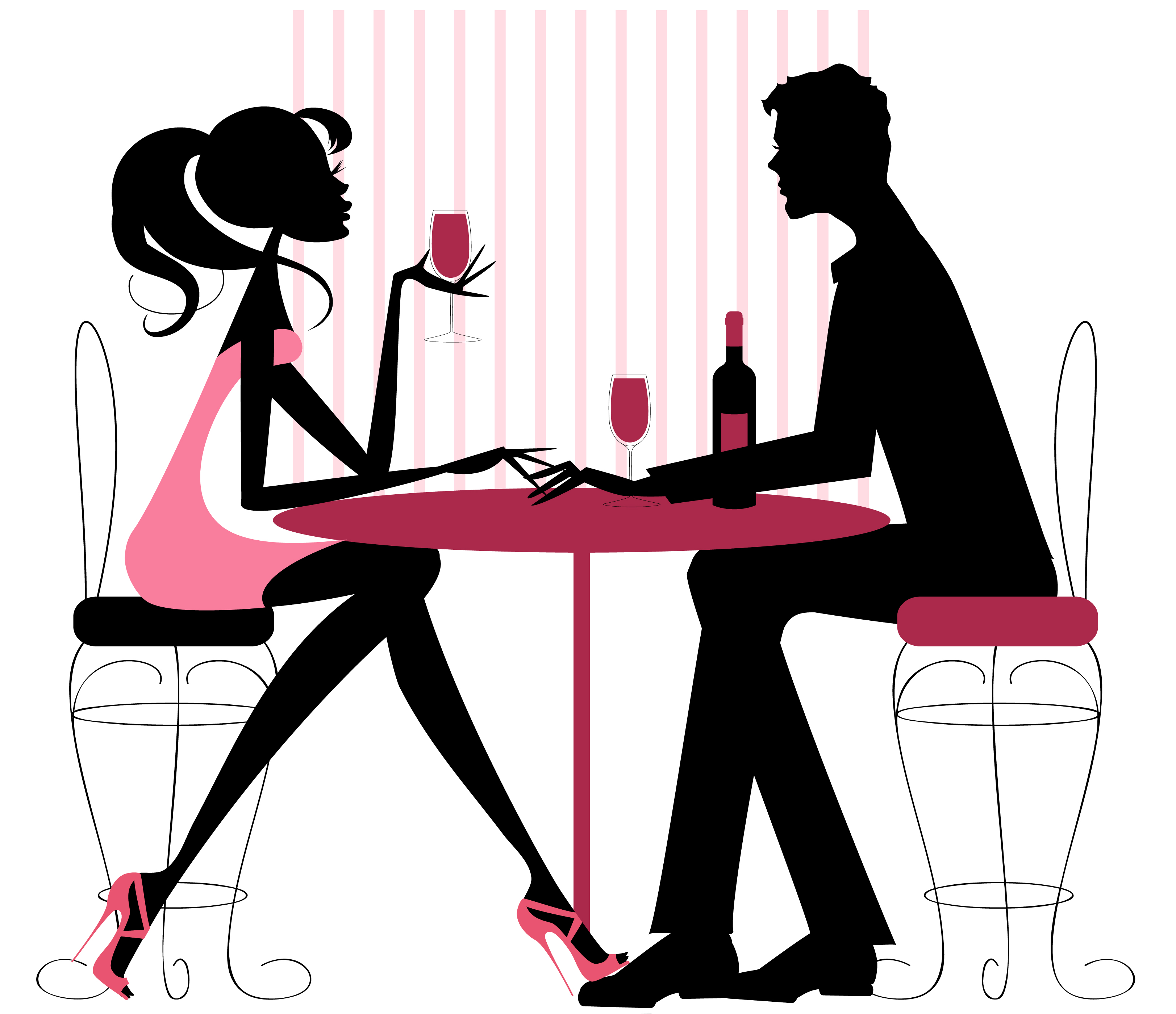Speed dating clipart banner black and white library Speed dating clipart - ClipartFest banner black and white library