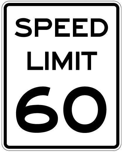 Speed limit sign clipart graphic freeuse stock 17 Best images about Road Sign on Pinterest | Federal, Graphics ... graphic freeuse stock