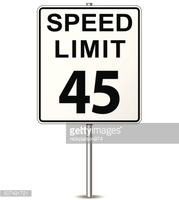 Speed limit sign clipart graphic black and white stock Vector Speed Limit Sign stock vectors - Clipart.me graphic black and white stock