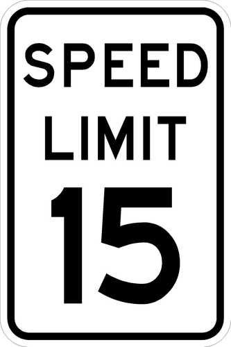 Speed limit sign clipart clip black and white stock $36.50 - Speed Limit 20 - Road Sign - http://www.ebay.com/itm ... clip black and white stock