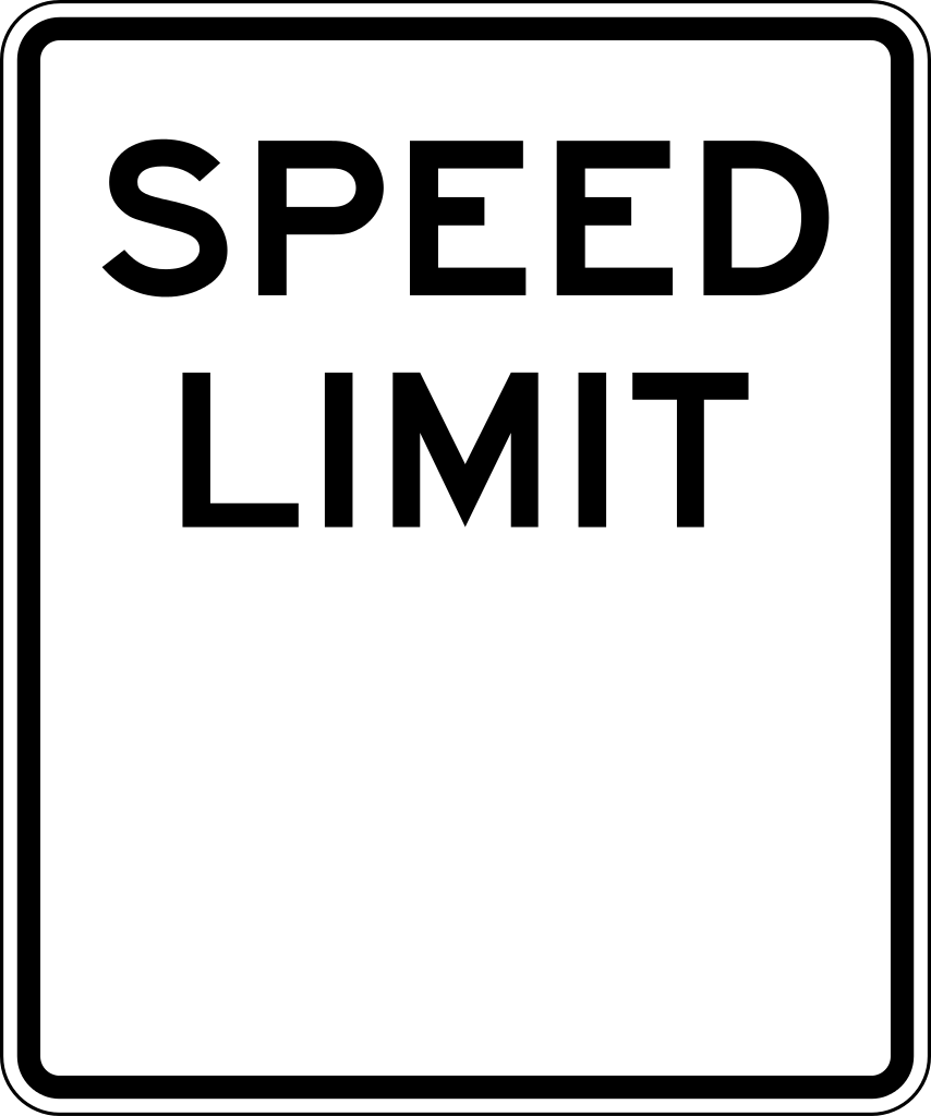 Speed limit sign clipart graphic royalty free Speed limit sign clip art - ClipartFest graphic royalty free