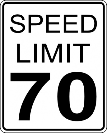 Speed limit sign clipart graphic free stock Speed limit sign clip art - ClipartFest graphic free stock