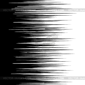 Speed lines clipart graphic black and white Manga comic book flash speed lines background - vector clipart graphic black and white