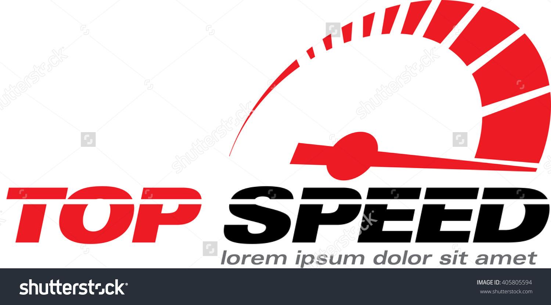 Speed logo clipart clip art download Top Speed Vector Logo Racing Event Stock Vector 405805594 ... clip art download