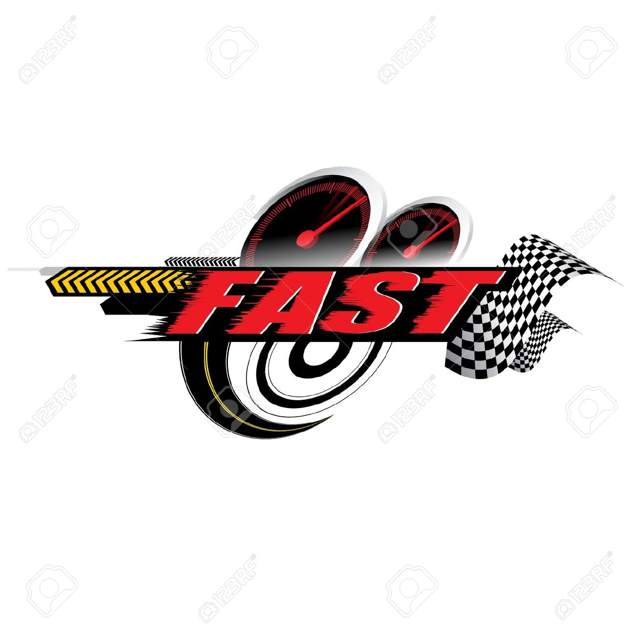 Speed logo clipart clipart transparent stock Fast Speed Logo Concept Vector Royalty Free Cliparts, Vectors, And ... clipart transparent stock