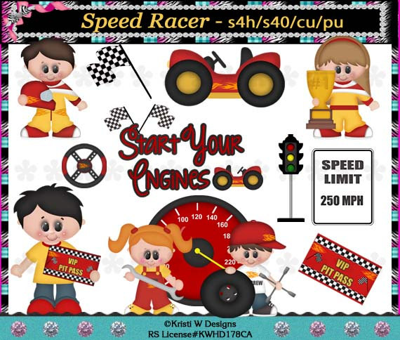 Speed racer clipart kids graphic library download Clip Art Speed Racer Clipart - Clipart Kid graphic library download