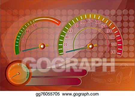 Speedometer needle clipart banner free download Vector Illustration - Speedometer needle. Stock Clip Art ... banner free download