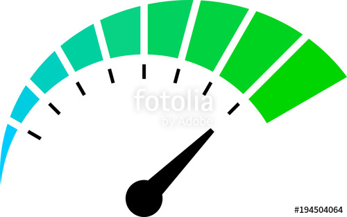 Speedometer vector clipart clip art black and white library Speedometer Vector\