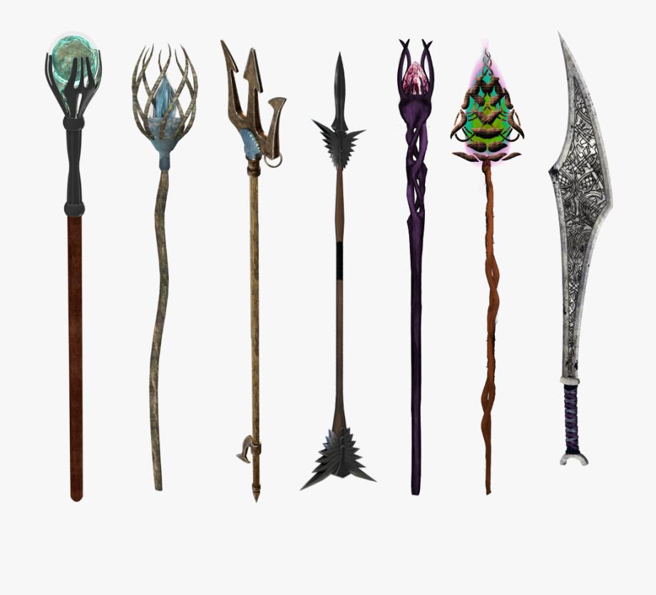 Spell staff clipart image free Staff - Magic Staff Fantasy , Transparent Cartoon, Free ... image free