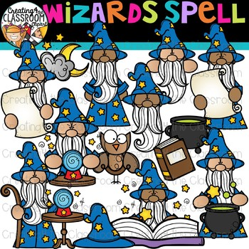Spell staff clipart jpg royalty free Wizards Spell Clipart {Fairytale Clipart} jpg royalty free