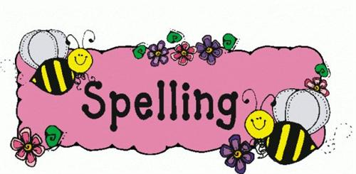 Spelling list clipart picture free stock Wolking, Melissa / Spelling and Vocabulary List picture free stock