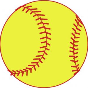 Spftball clipart clipart black and white library Free Yellow Softball Cliparts, Download Free Clip Art, Free ... clipart black and white library