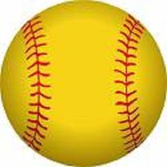 Spftball clipart picture black and white 23 Best Softball images in 2017 | Softball clipart, Baseball ... picture black and white