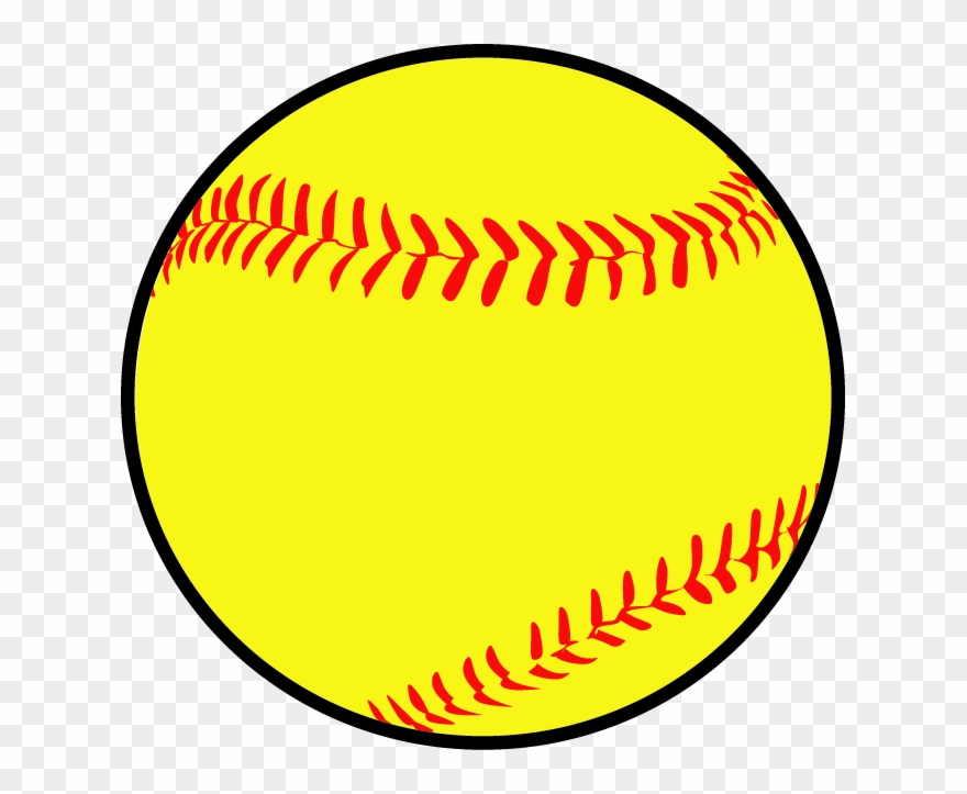 Spftball clipart picture library stock Softball Camp - Black And White Softball Clipart (#937944 ... picture library stock