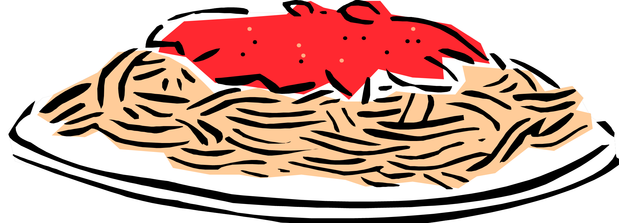 Pasta clipart free download image black and white stock Free Spaghetti Cliparts, Download Free Clip Art, Free Clip ... image black and white stock