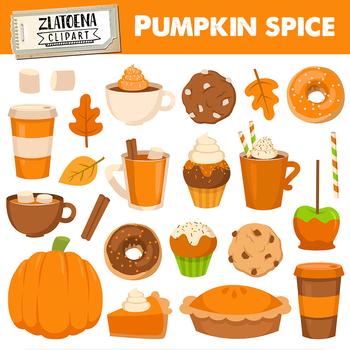 Spice clipart vector free stock Pumpkin Spice clipart Treats Clip art Fall treats clipart Spice latte clip  art vector free stock