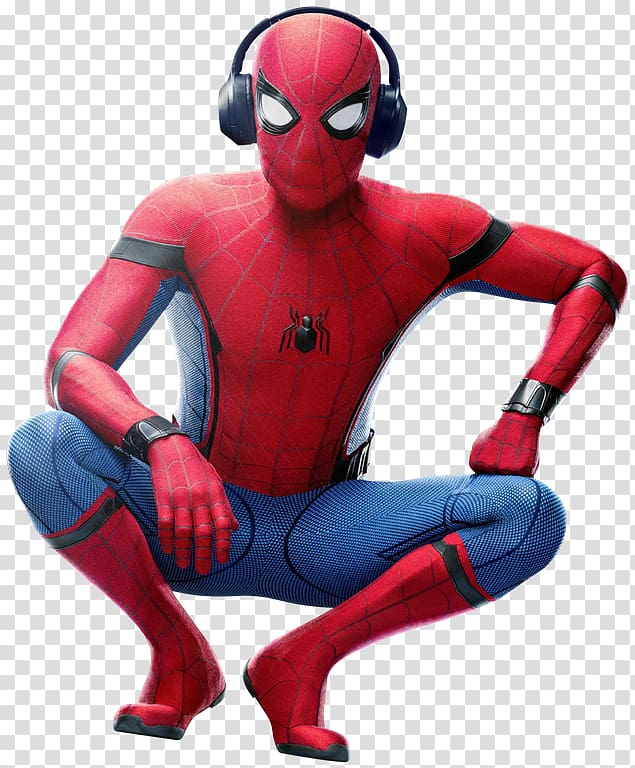 Spider man homecoming clipart image black and white Spider-Man: Homecoming Iron Man Marvel Cinematic Universe ... image black and white