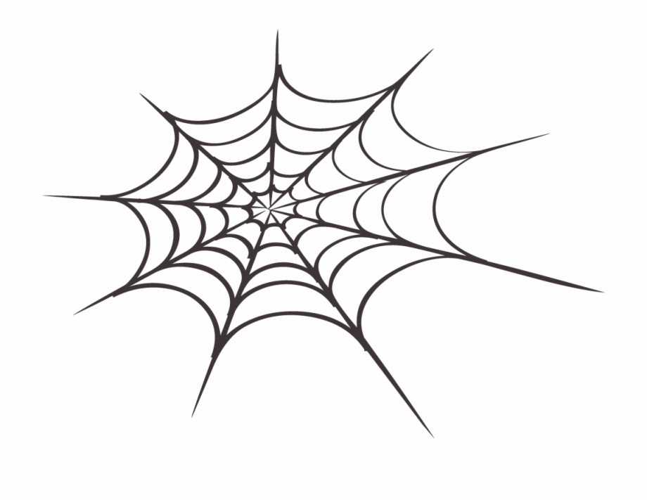 Spider silk clipart graphic library Background Spider Web Transparent 34744 Free Icons - Spider ... graphic library