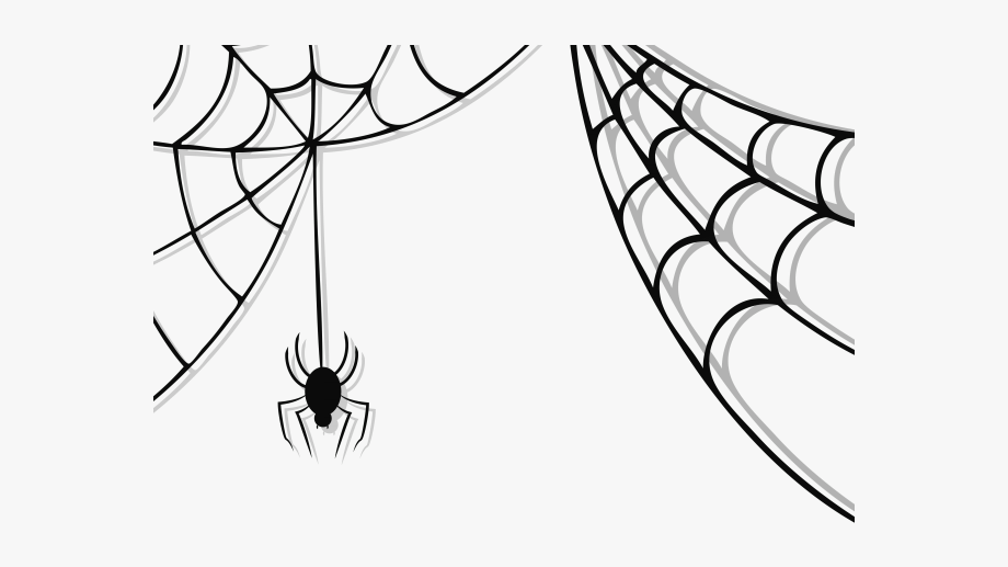 Spider silk clipart png black and white download Spider Clipart Charlottes Web - Spider Web Vector Png ... png black and white download