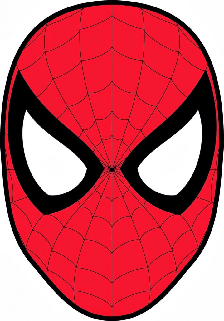 Spiderman clipart face clipart transparent library Spiderman Face Clipart Group with 73+ items clipart transparent library