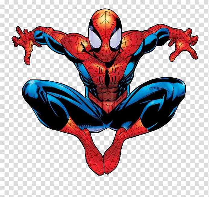 Ultimate spiderman clipart