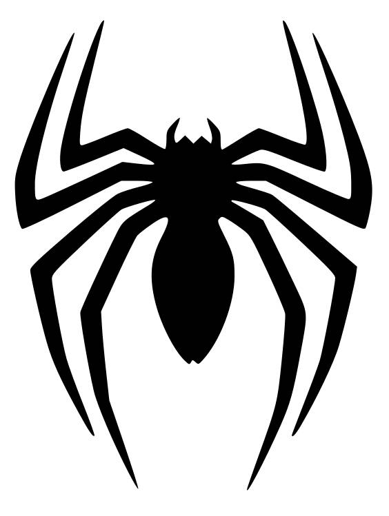 Spiderman logo clipart clip art black and white download Spiderman Logo PNG Transparent Spiderman Logo.PNG Images ... clip art black and white download