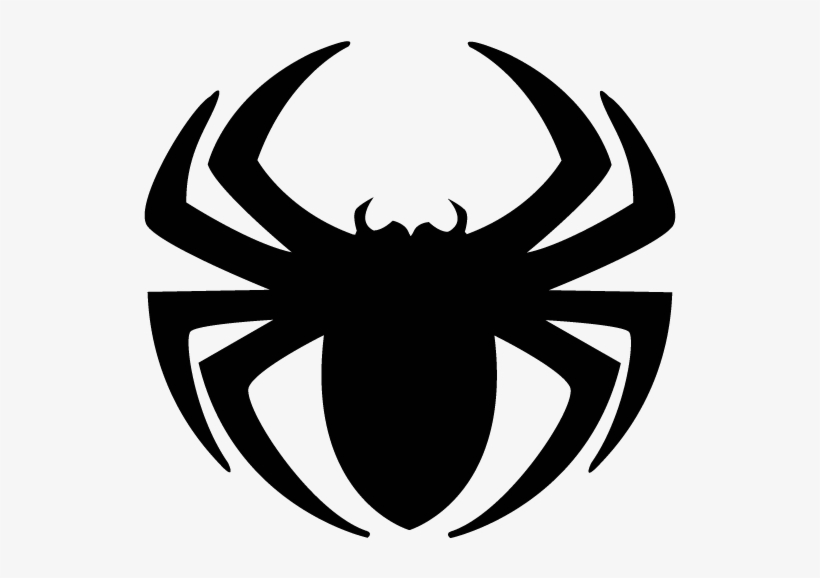 Spiderman logo clipart graphic black and white Web Clipart Spiderman Logo - Spider Clipart - Free ... graphic black and white