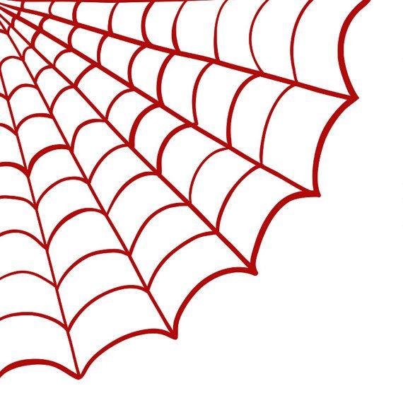 Spiderman with web clipart clipart free library Spider Web Clip Art, Spooky Halloween Clip Art, Digital ... clipart free library