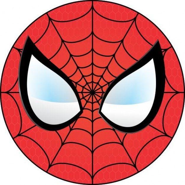 Spidermen shield clipart clip transparent stock Free Spiderman Face, Download Free Clip Art, Free Clip Art ... clip transparent stock
