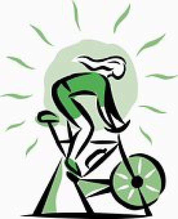 Spin class clipart image stock Download spin class clip art clipart Indoor cycling Bicycle ... image stock