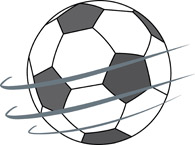 Spinning ball clipart picture black and white library Sports Clipart - Free Soccer Clipart to Download picture black and white library