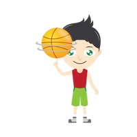 Spinning ball clipart image free stock Basketball Finger Fingers Spinning Spin Hand Hands Balance ... image free stock