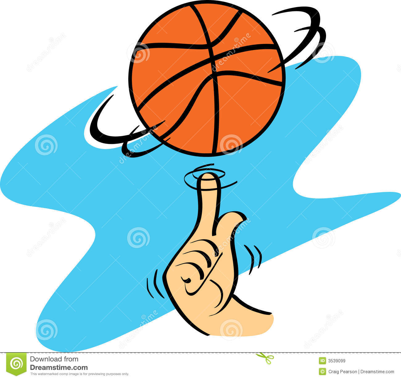 Spinning clipart graphic royalty free Basketball Spinning | Clipart Panda - Free Clipart Images graphic royalty free