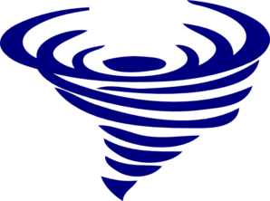 Spinning clipart clipart freeuse Blue Spinning Whirlwind Clip Art at Clker.com - vector clip ... clipart freeuse