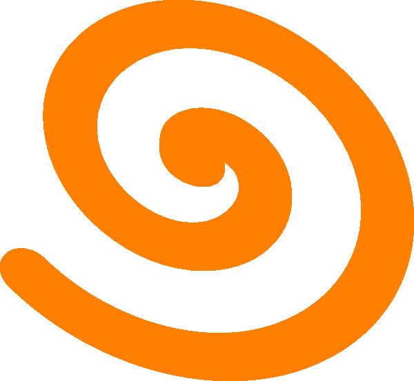 Spiral house clipart picture transparent Orange Spiral Clip Art at Clker.com - vector clip art online ... picture transparent