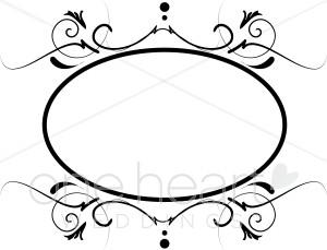 Spiral oval clipart clip art transparent library Spiral Monogram Clipart | Wedding Borders clip art transparent library