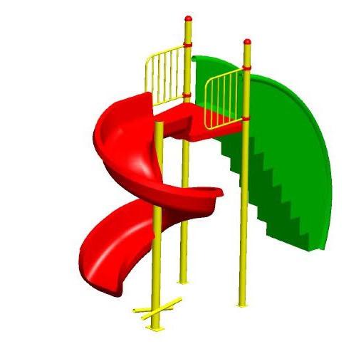 Spirral playground equipment clipart free stock Playground Slide - Kid Playground Manufacturer from Vasai free stock