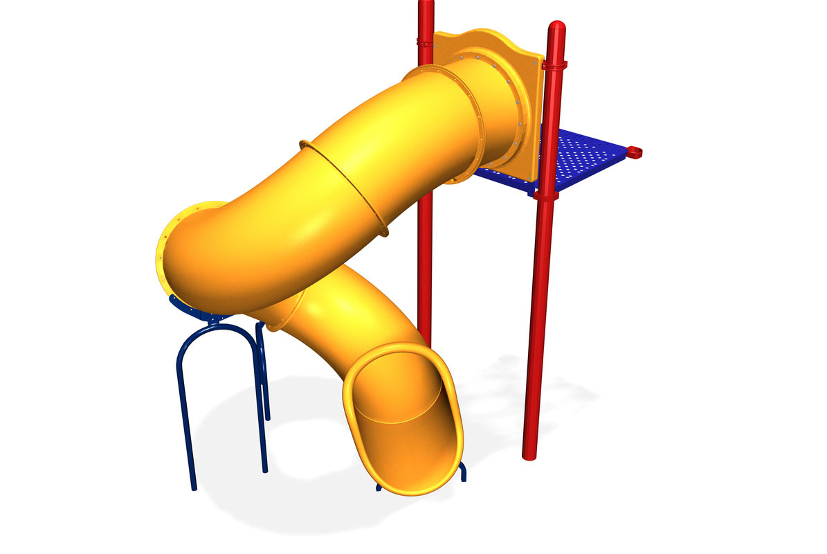 Spirral playground equipment clipart picture Quantum II Spiral Slide - Little Tikes Commercial picture