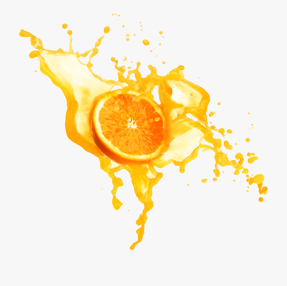 Splash juice clipart picture free Orange Juice Splashing - Splash Orange Juice Png #2035380 ... picture free