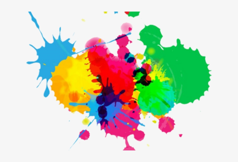 Splash of color clipart royalty free library Colouful Clipart Color Splash - Colours On White Background ... royalty free library