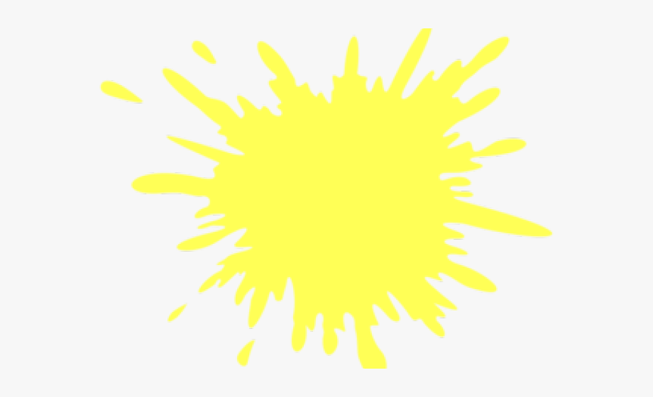 Splash of color clipart picture free stock Splash Clipart Yellow - Color White Splash Png , Transparent ... picture free stock