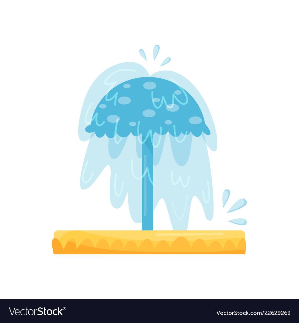 Pool splash clipart svg library Splash pad water umbrella small pool for kids svg library