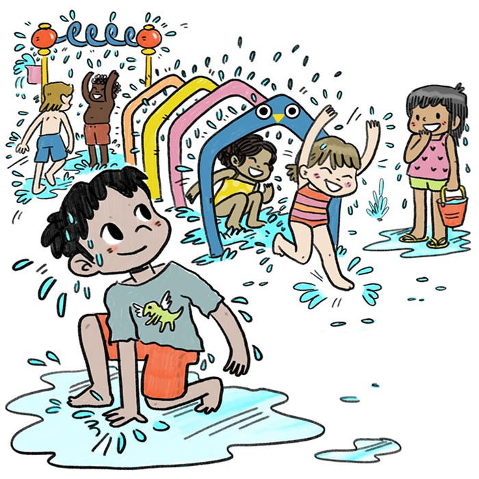 Splash park clipart png free stock Splash Pads: A Gift to Portland Parents (and Kids, I Guess ... png free stock