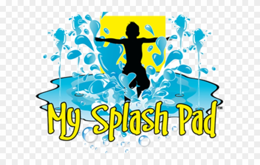 Splash park clipart clip library library Splash Clipart Waterpark - Splash Pad - Png Download ... clip library library