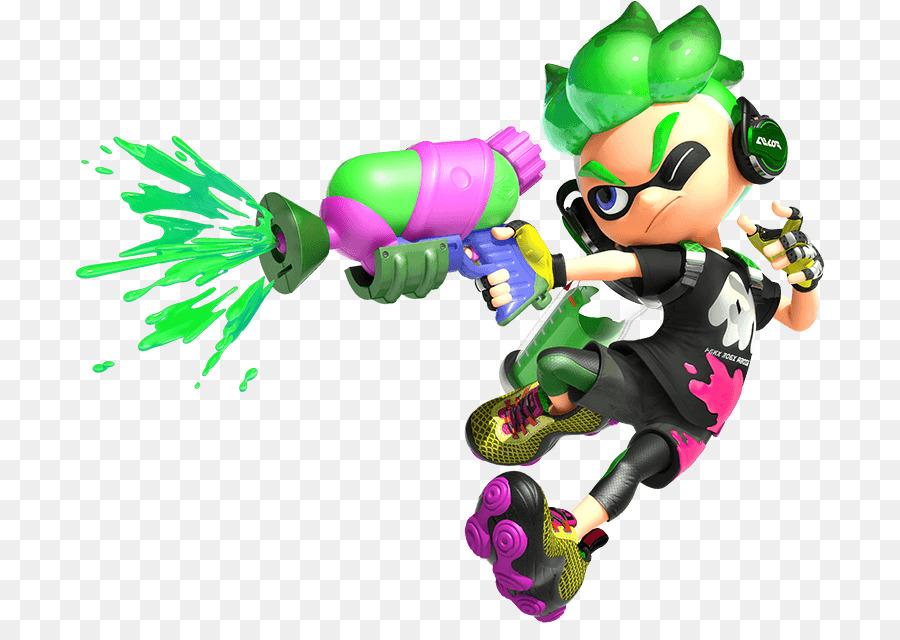 Splatoon clipart clip art freeuse splatoon 2 characters clipart Splatoon 2 Wii U Nintendo ... clip art freeuse