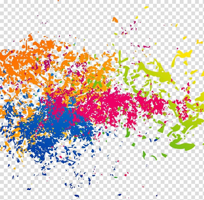 Splatter effect clipart svg black and white download Of paint splatter, Ink Brush effect transparent background ... svg black and white download