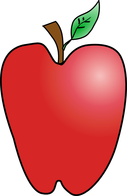 Split apple clipart banner download Cartoon Apple K Yager 03r Clipart | i2Clipart - Royalty Free Public ... banner download