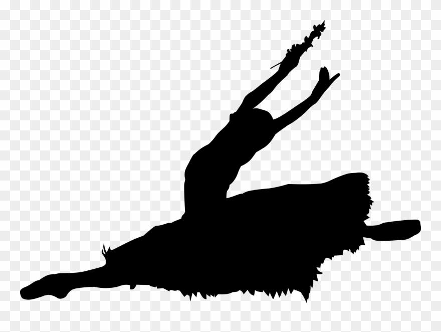 Splits clipart image graphic black and white library You Must Be Able To Do The Splits To Do A Split Leap Clipart ... graphic black and white library